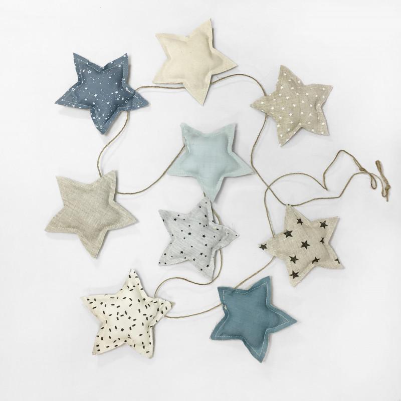 BANDEROLA BLUE STAR