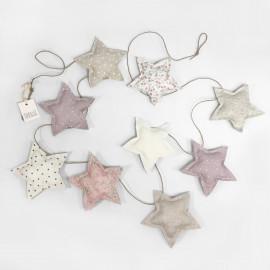 PINK STARS BANDEROLE