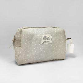 WHITE MINISTAR CAMILA TOILETRIES CASE