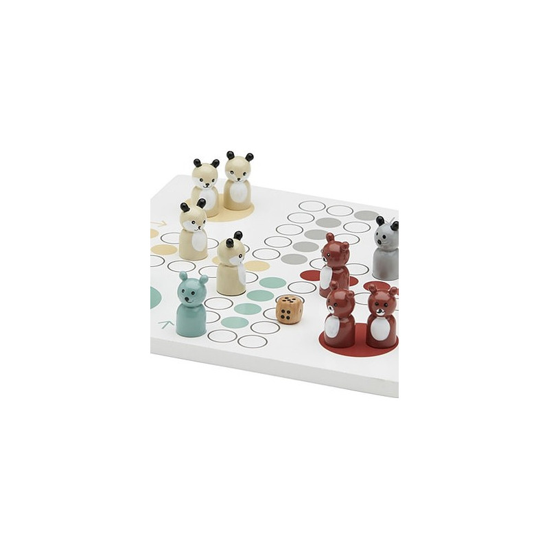 PARCHIS MADERA ANIMALES