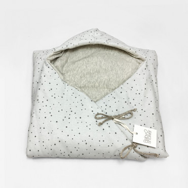 SACO ENTRETIEMPO GREY ON GREY