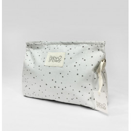 GREY ON GREY NAPPIES POUCH