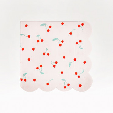 MINI-SERVILLETAS PAPEL CHERRY