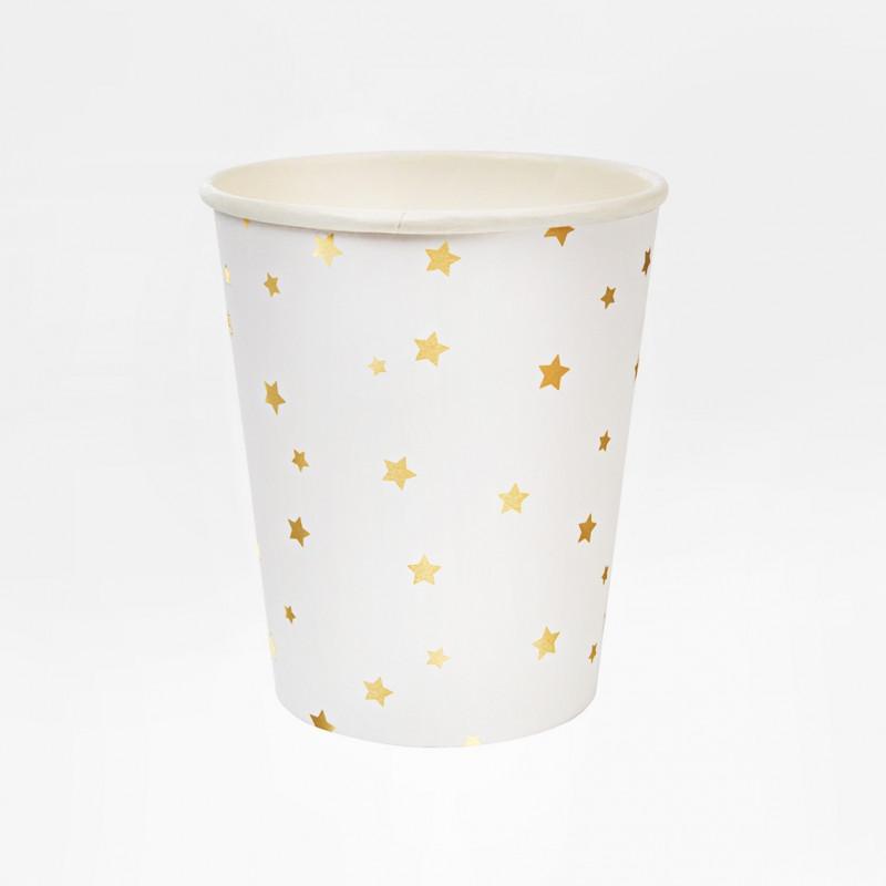 MINT GRID PAPER CUPS