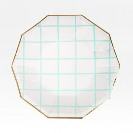 MINT GRID PAPER MINI-PLATES