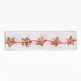 GOLDEN STARS GARLAND