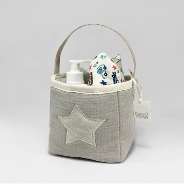 SAND COTTON ALEHOP BASKET