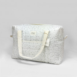 BOLSA MATERNIDAD CAMILA GREY ON GREY