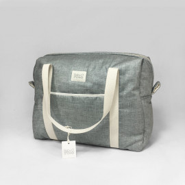 RAINY GREY CAMILA MATERNITY BAG