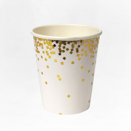 VASOS DE PAPEL GOLD STAR