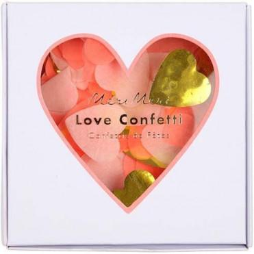 LOVE CONFETTI ROSA