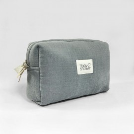 GREY POWDER CAMILA TOILETRIES CASE