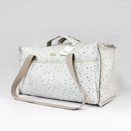 BOLSA MATERNIDAD GREY ON GREY