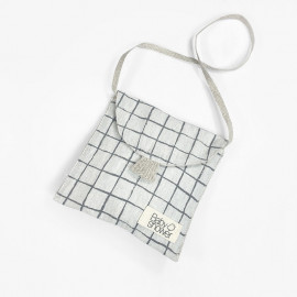GREY GRID DUMMY BAG