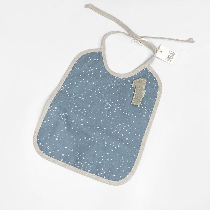 BLUE STAR MEDAL BIB