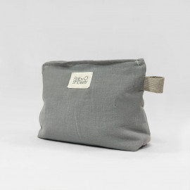 GREY POWDER NAPPIES POCHETTE
