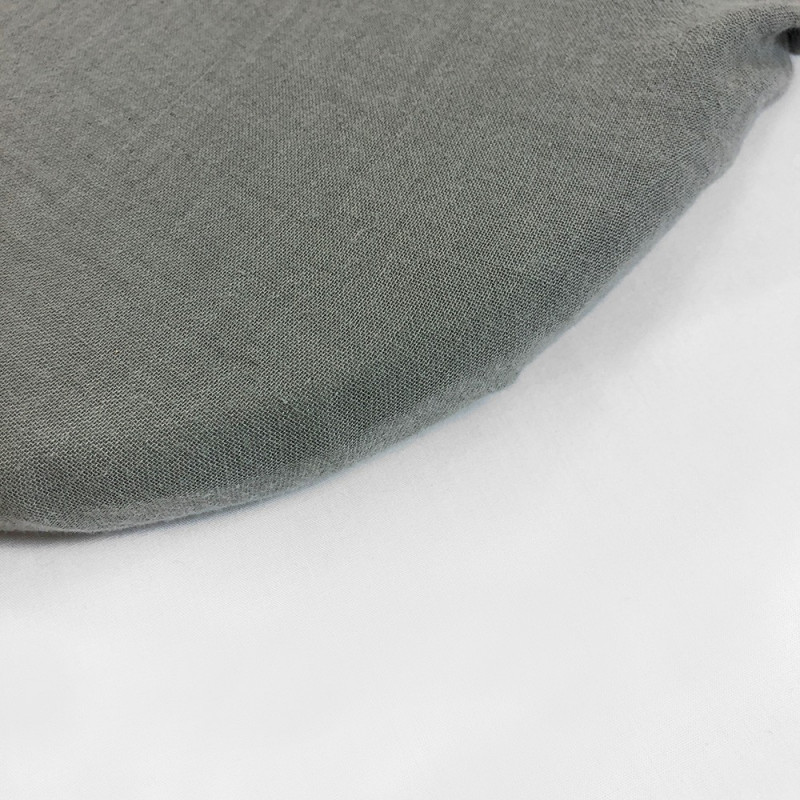 GREY POWDER BOTTOM FITTED SHEET