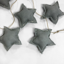 BANDEROLA STAR GREY POWDER