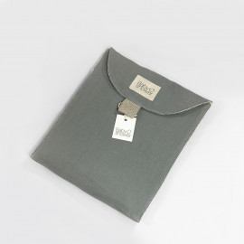 GREY POWDER TRAVEL POCKET