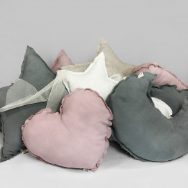 ROSE POWDER CUSHION PILLOWS