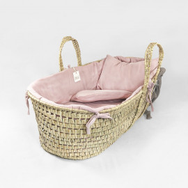 ROSE POWDER MOSES BASKET