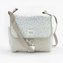 GREY STAR STROLLER BAG
