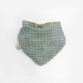 MINT GRID BANDANA