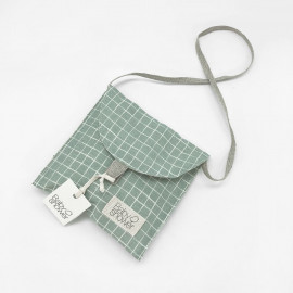 MINT GRID DUMMY BAG