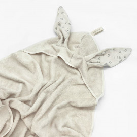 DUSTY HOODED BATH CAPE