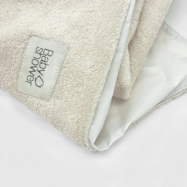 SET x2 PLASTIC-COATED TOWELS