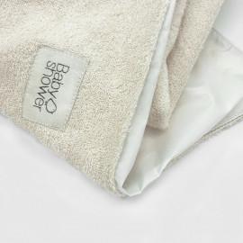 SET x2 PLASTIC-COATED TOWELS
