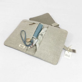 BABYCLUTCH GREY ON GREY