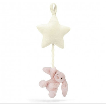 PELUCHE MUSICAL BUNNY PINK