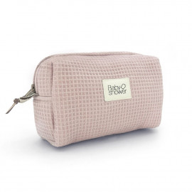 WAFFLE ROSE CAMILA TOILETRIES CASE