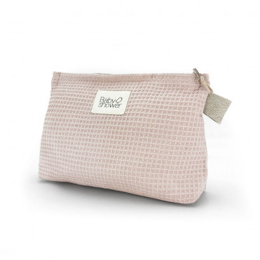 WAFFLE ROSE NAPPIES POUCH