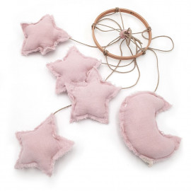 ROSE POWDER HANGING MOBILE