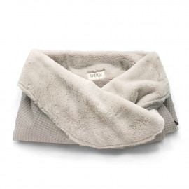 BEIGE SACK FLEECE BLANKET