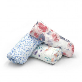 WATERCOLOR ADEN+ANAIS BAMBOO SWADDLE