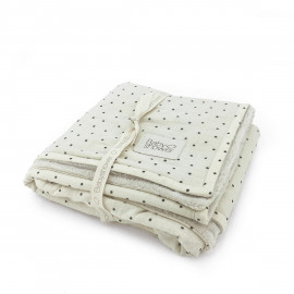 POLKA DOT FLEECE BLANKET