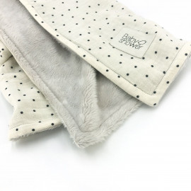 COUVERTURE POLAIRE POLKA DOT