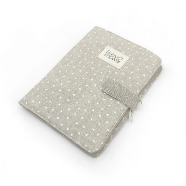 WHITE MINISTAR DOCUMENT FOLDER