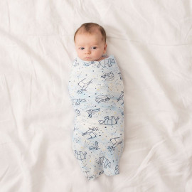 BLUE MOON ADEN+ANAIS BAMBOO SWADDLE