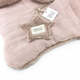 COUVERTURE TEDDY ROSE POWDER