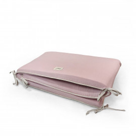 CONTORNO DE CUNA BRICK 60cm ROSE POWDER