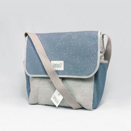 SAC POUSETTE BLUE STAR