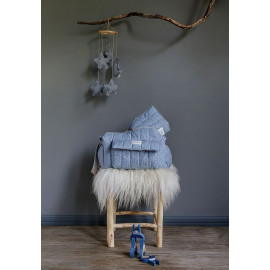 GREY POWDER HANGING MOBILE