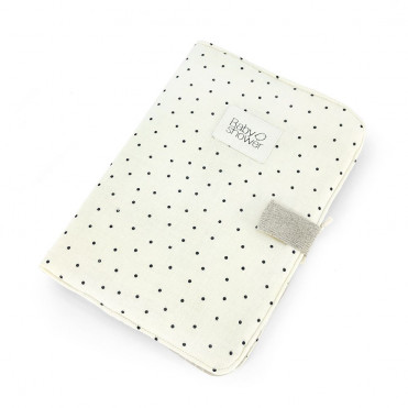 POLKA DOT DOCUMENT FOLDER