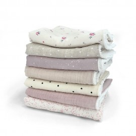 BABY GIRL MINI-TOWELS SUPERPACK