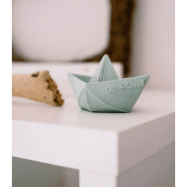 OLI & CAROL ORIGAMI BOAT NUDE BATH TEETHER