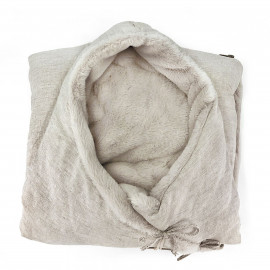 LINO BEIGE FLEECE ANGEL NEST